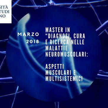 """Master di II livello """"Diagnosi, cura e ricerca nelle malattie neuromuscolari"""""""