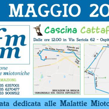Pranzo a Cascina Cattafame ad Ospitaletto (BS), domenica 27 maggio 2018